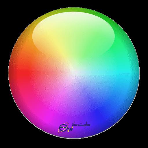 انتخاب رنگ یکی از اصول طراحی سایت