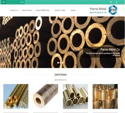 نمونه کار سایت سهند- شرکت فنی و مهندسی کسری
