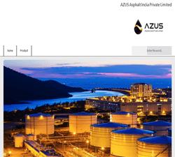 نمونه کار سایت دنا-شرکت AZUS